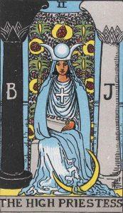 High Priestess Rider-Waite