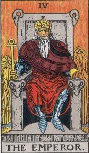 The Emperor Rider-Waite