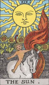 The Sun Rider-Waite