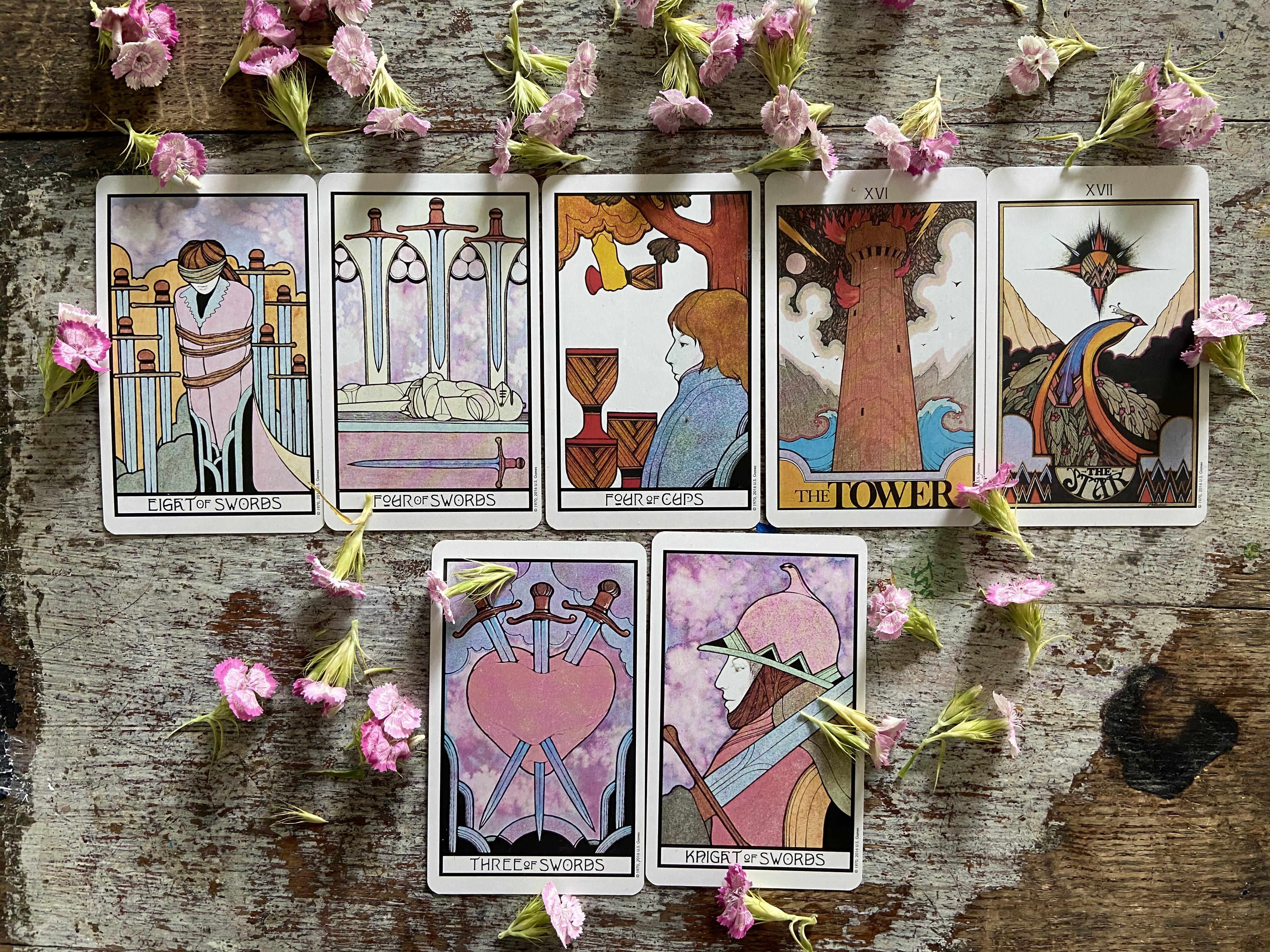 7 Day Tarot Forecast 6:1
